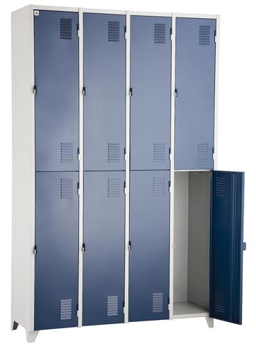 Roupeiro de Aço Colorido Art móveis - KitaOffice b0b051c13e